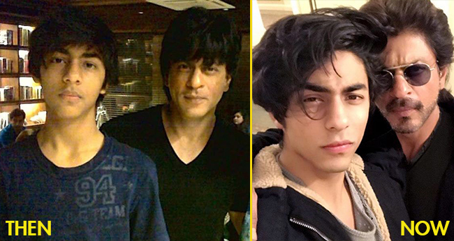 Aryan Khan is new SRK in making; his transformation during recent years is just remarkable