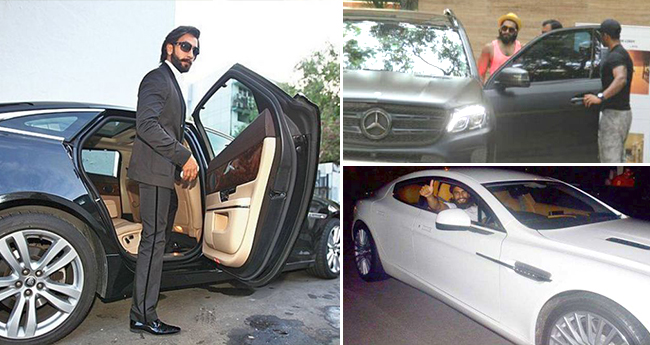 Ranveer Singh Has A Fleet Of Luxurious Cars Collection Which Will Surely Envy You