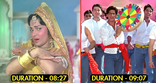 Some of the Lengthiest numbers in Hindi cinema