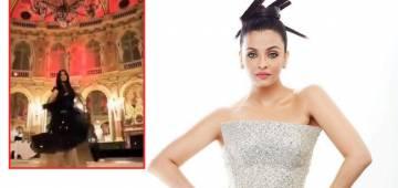 Aishwarya Rai Bachchan Spells Beauty In This Beautiful Black Outfit