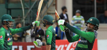 Fakhar Zaman's Double Ton Helped His Team Win Against Zimbabwe
