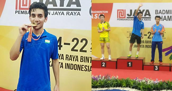 Lakshya Sen Wins Gold Medal In Men's Singles At Badminton Asia Junior Championships 2018