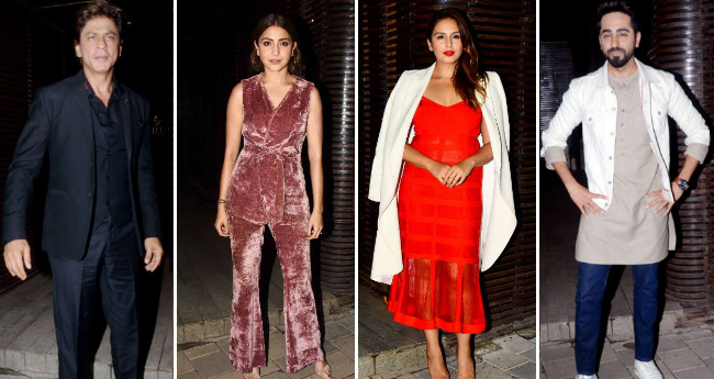 Pics: Bollywood Stars Gather At Filmmaker Aanand L Rai's Birthday Bash
