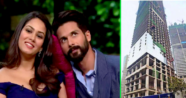 Padmaavat actor Shahid Kapoor pays Rs 56-cr for duplex in Worli