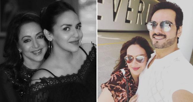 Esha Deol is on a vacation with Hema Malini and hubby Bharat Takhtani, shared pictures