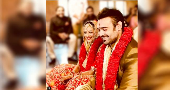 Mithun Chakraborty's son Mahaakshay ties knot with Madalsa Sharma