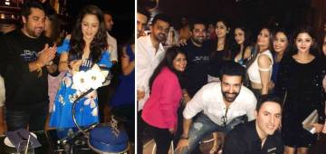 Aamna Sharif celebrated birthday with friends including Aamir and Sanjeeda