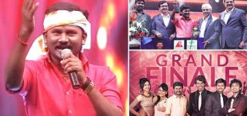 Senthil Ganesh Is Winner And Bags Trophy Of Super Singer Season Six