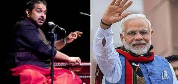 Shankar Mahadevan sings breathless for more than one minute on Independence Day for India's Progress