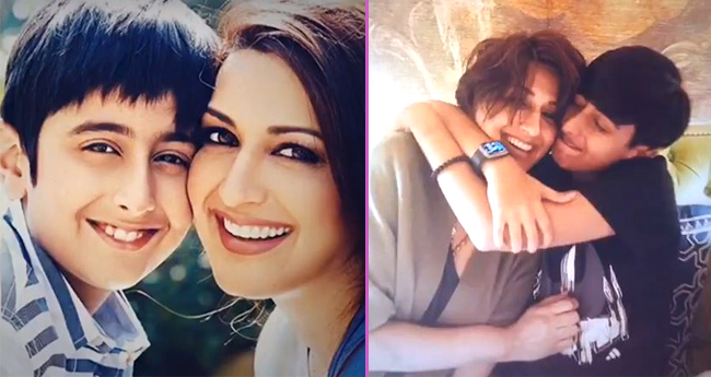 Sonali Bendre wishes her son Ranveer Behl, shares a video with a heartwarming note