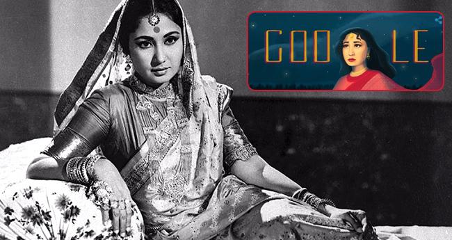 Google Dedicates Its Latest Google Doodle To Veteran Actress Meena Kumari