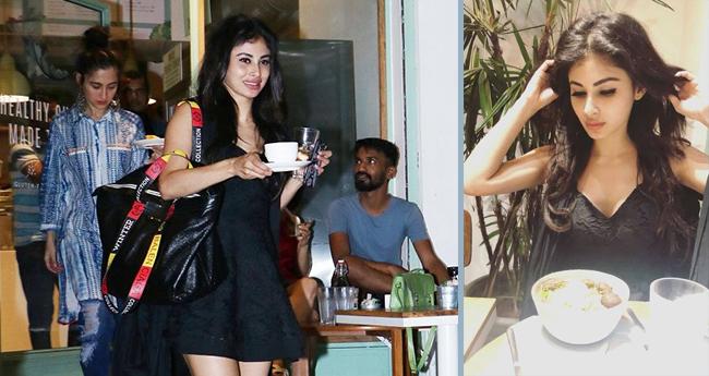 Mouni Roy enjoys coffee date with her best friend Sanjeeda Sheikh