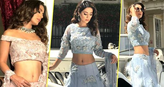 TV Actress Hina Khan Looks A Modern Day Bride In Her Latest Photo Shoot In London
