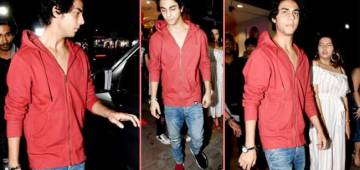 Shah Rukh's Son Aryan Khan Redefines Fashion As He Wore Mismatched Shoes