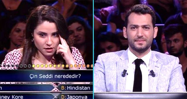 A Lady On Turkish Version Of KBC Uses 2 Lifelines To Answer Location Of Great Wall Of China