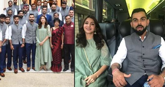 Anushka Did Not Break Protocol By Posing With India Team As High Commissioner And His Wife Had Invited Her