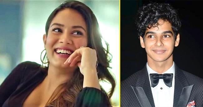 Ishaan Khatter Supports Bhabhi Mira Kapoor As She Endorses Anti-Ageing Cream