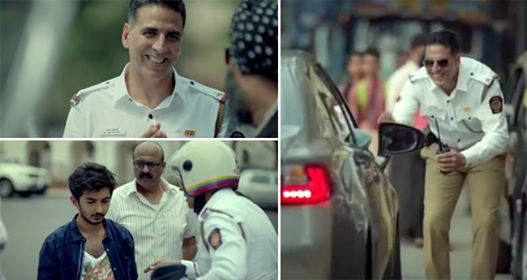 Akshay Kumar Gives Social Message About Road Safetly Via Videos On Instagram