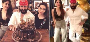 Saif Ali Khan Turns 48 Today: Had Fun-Filled Midnight Celebrations