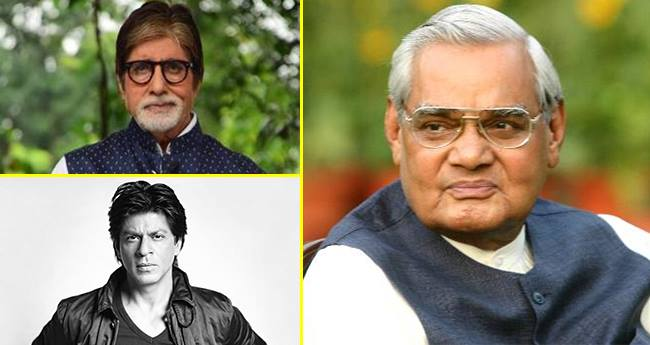 SRK And Amitabh Bachchan Shares An Emotional Post For Atal Bihari Vajpayee