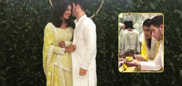 Priyanka And Nick's Roka Ceremony Takes Place Today, Couple Looks Ethereal In Traditional Attires