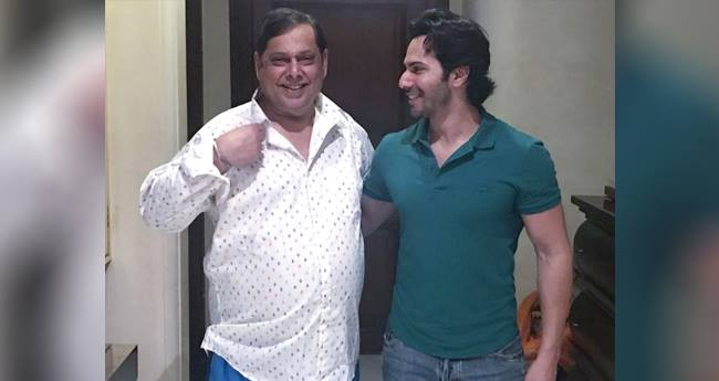 Varun Dhawan Turns Tailor, Stitches A Shirt For His Dad David Dhawan