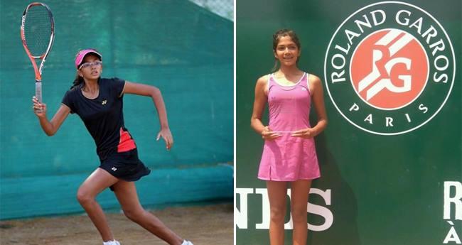 Malikaa Marathe, a girl who had a partial eyesight is now a tennis champion
