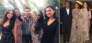 Pictures From Priyanka Chopra and Nick Jonas Engagement Bash