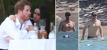 Throwback Pictures Of Prince Harry and Meghan Markle Enjoying On A Beach in Jamaica