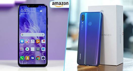 Amazon India Will Sell Huawei Nova 3 Today In An Open Sale From 1 p.m.