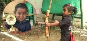 To Create Guinness World Record, 3 YO Girl Aims 1,111 Arrows In 3.5 Hours