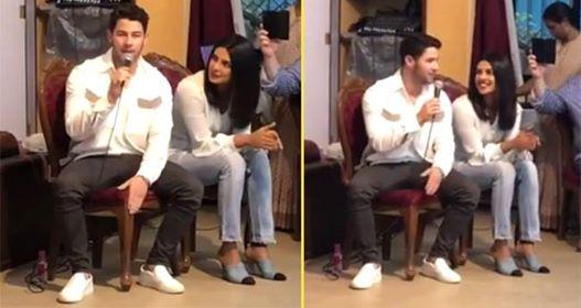 Priyanka Chopra feels delightful as Nick Jonas sings Lovebug at an orphanage