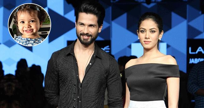 Shahid Kapoor Was Asked If Baby Misha Will Walk The Ramp Soon, We Love His Reply