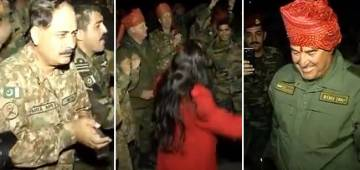 Brotherhood Vibes: Indian And Pakistani Soldiers Dance Together On Bollywood songs In Russia