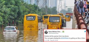 Delhi Rains Is Now The New Reason For Jokes And Memes On Twitter