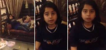Girl's Cute Ranting About Guests As They Did Not Give Her Money Is Adorable