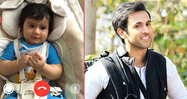 Mihika Varma's 4-Month-Old Baby Boy Has A Video Chat With Maamu Mishkat Varma