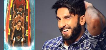 Ranveer Singh laughed out loud seeing Deepika Padukone's rollercoster emotion