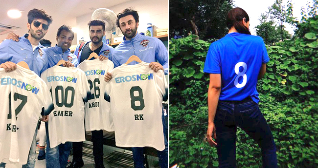 Alia Bhatt Shares A Pic Showing Off Ranbir Kapoor's Favourite Number 8 Jersey