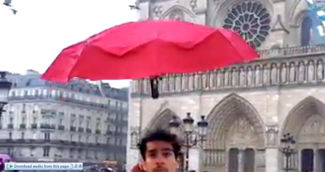 Self Flying Umbrella Named Dronebrella Is All You Need This Monsoon Season