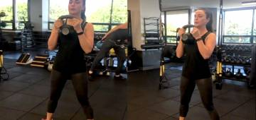 Dimpled Actress Preity Zinta Is A Powerhouse Of Strength, Shares Her Workout Videos