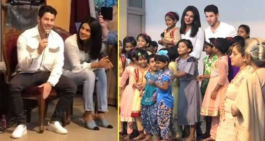 Another Pic From Priyanka and Nick's Time Spent With Orphan Kids