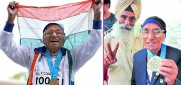102-Year-Old Indian Woman Wins Gold Medal In 200m At World Masters Athletics