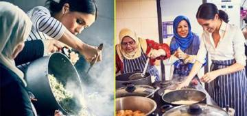 Meghan Markle Launches Grenfell Recipe Book, Supports Community Kitchen