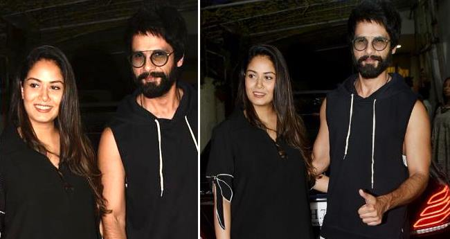 Shahid and Mira Make A Public Appearance After Baby Zain's Birth