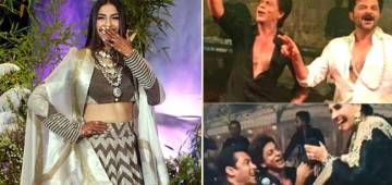 Sonam Recalls Her Reception Day When SRK And Salman Danced Their Heart Out Whole Night