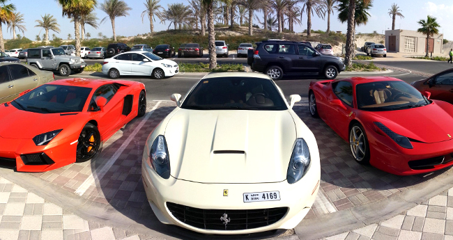 Some mind-blowing luxurious cars you can spot in Dubai