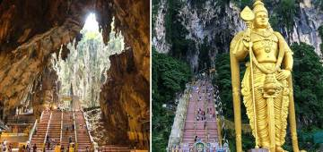 Kuala Lumpur's Batu Caves Has A 400 Million Years Old Temple With Full Of Wonders