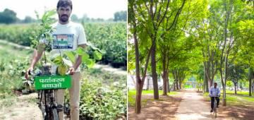 Cop Spent 30 Lakhs From Salary In 6 Years To Make Sonepat Green Like Chandigarh