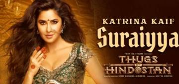 Katrina Kaif Unveils The Trailer Release Date of Thugs Of Hindostan And Its Not Too Far